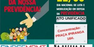 Ato Contra a Reforma Previdência 22/03/2019