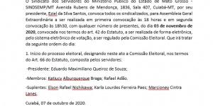EDITAL DE CONVOCAÇÃO PARA ASSEMBLEIA GERAL EXTRAORDINARIA
